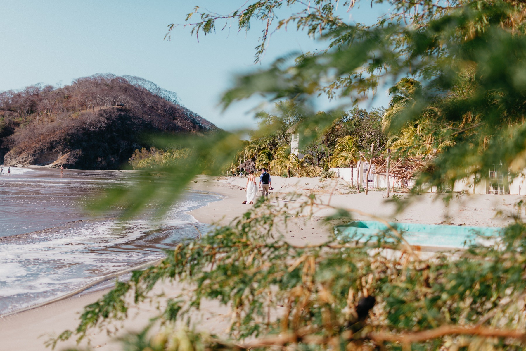 Beach Elopement wedding at Majagual Beach near San Juan Del Sur in Nicaragua