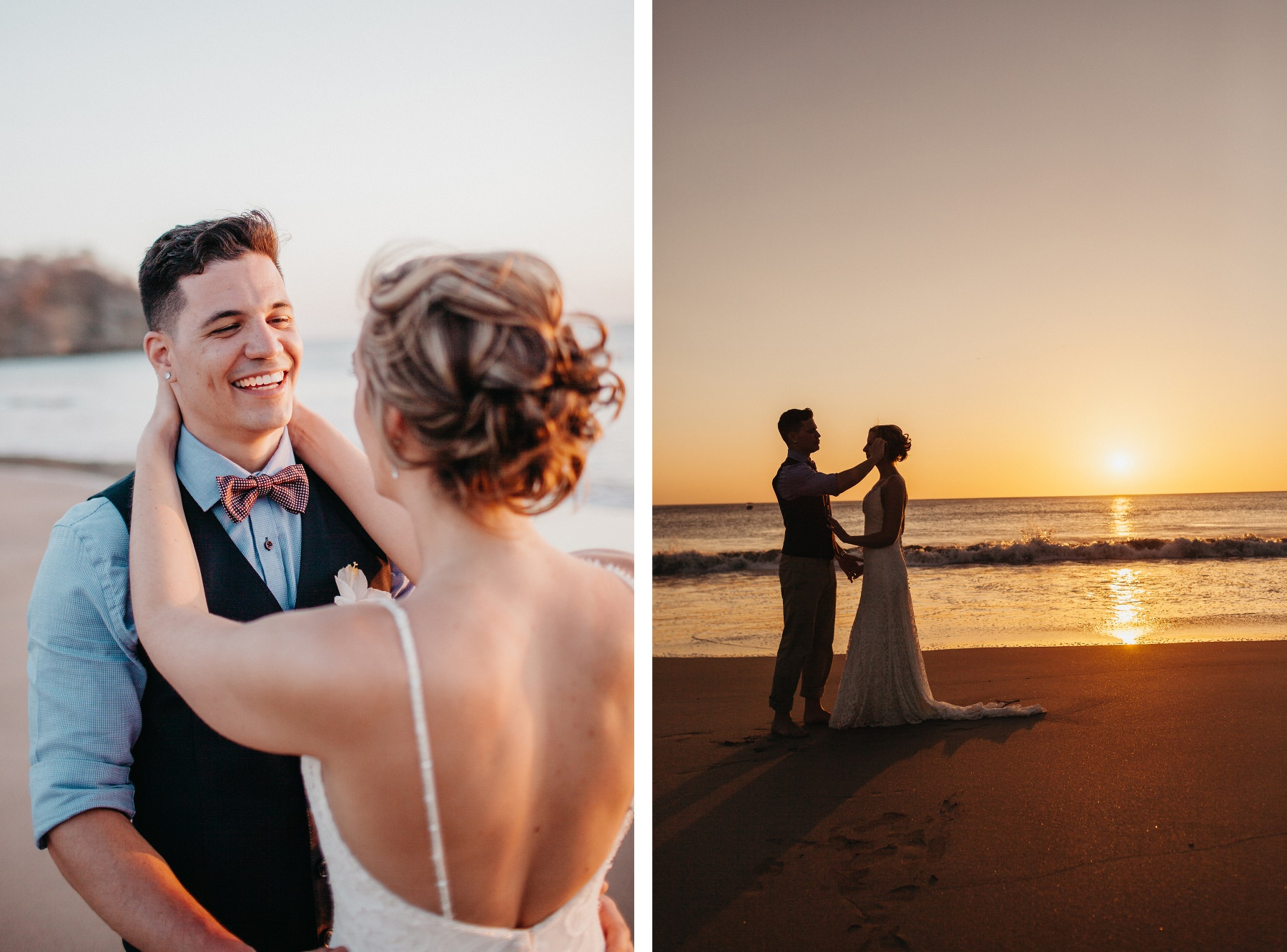 Beach destination elopement in Costa Rica