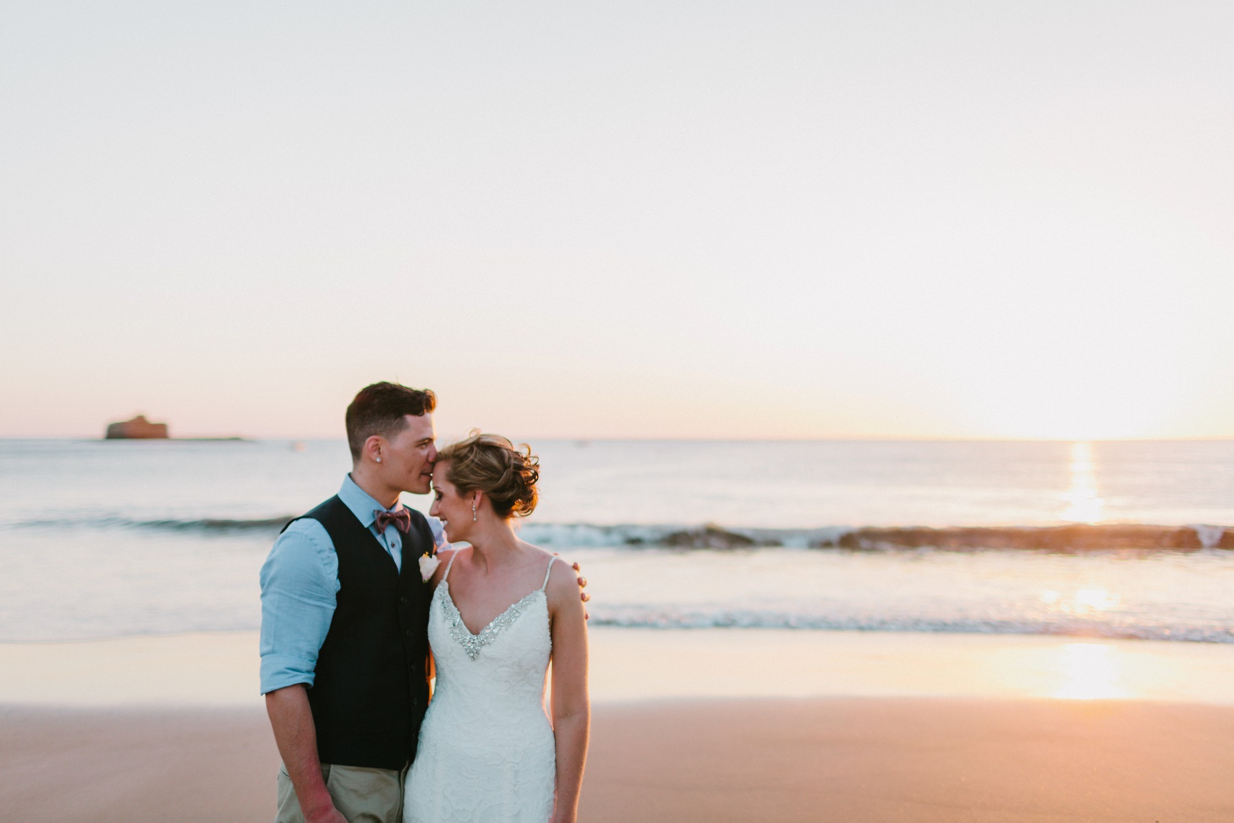 Beach Elopement wedding Nicragua