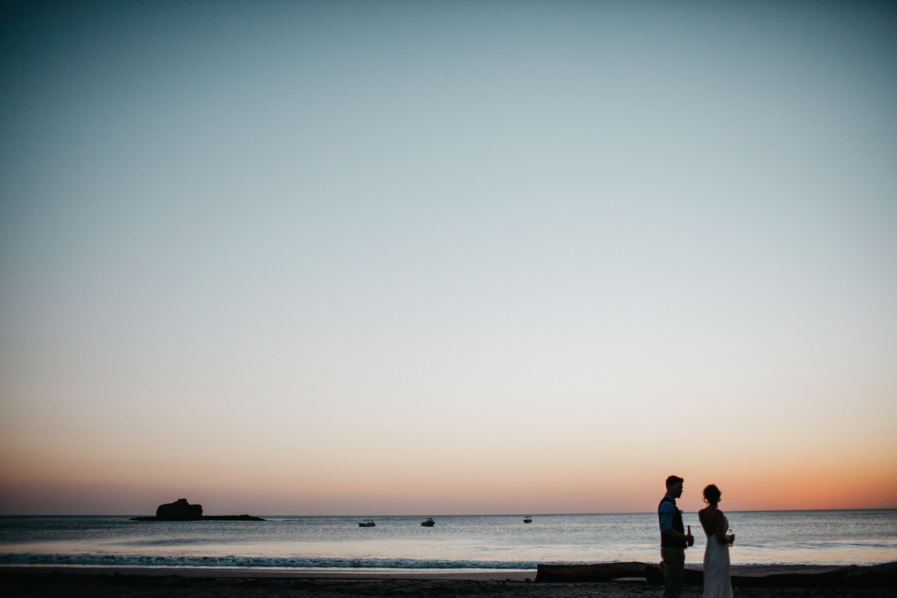 Beach elopement weding in Costa Rica and Nicaragua