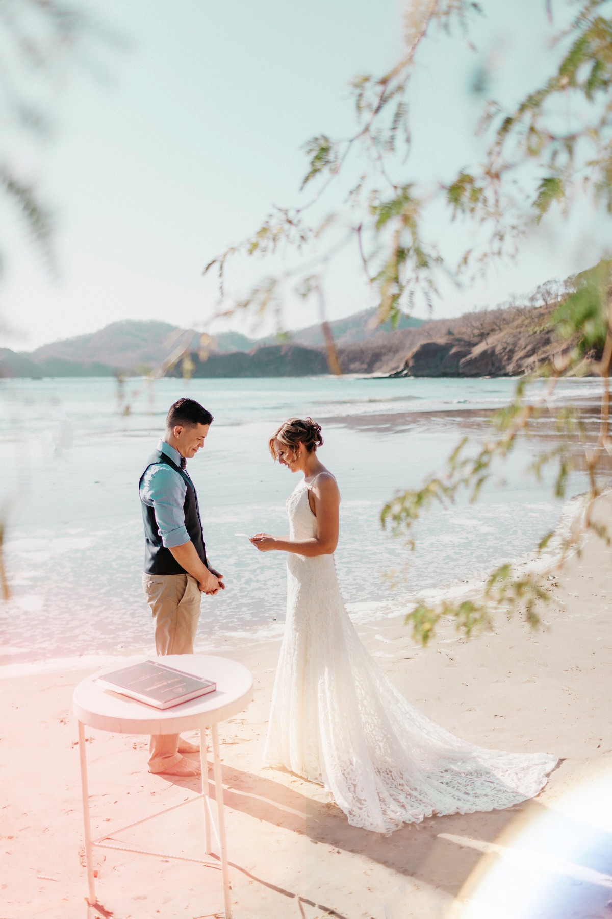 Vows Destination beach elopement in Costa Rica