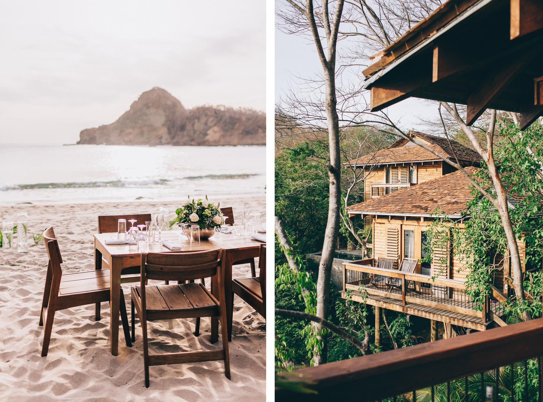 Aqua Resort Nicaragua Wedding setup
