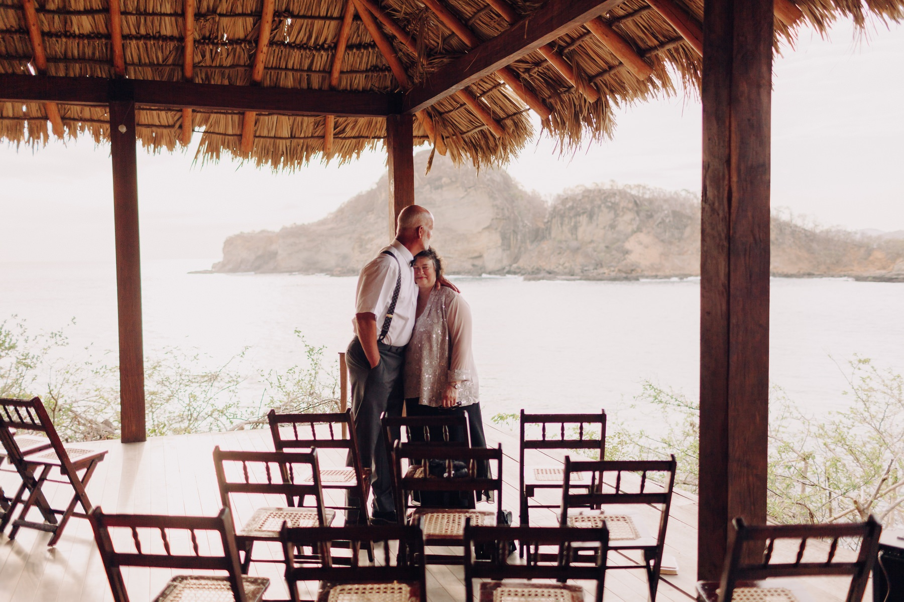 Parental love - destination wedding Costa Rica