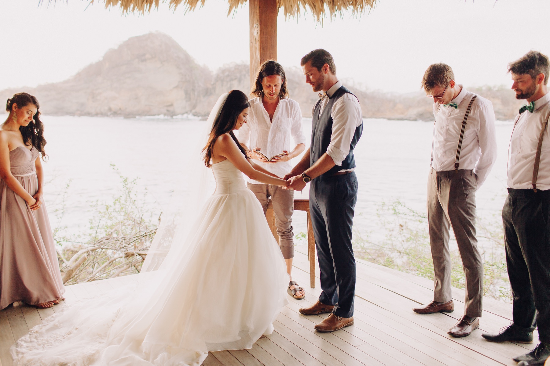 Destination Beach wedding  in Nicaragua. Wedding photography