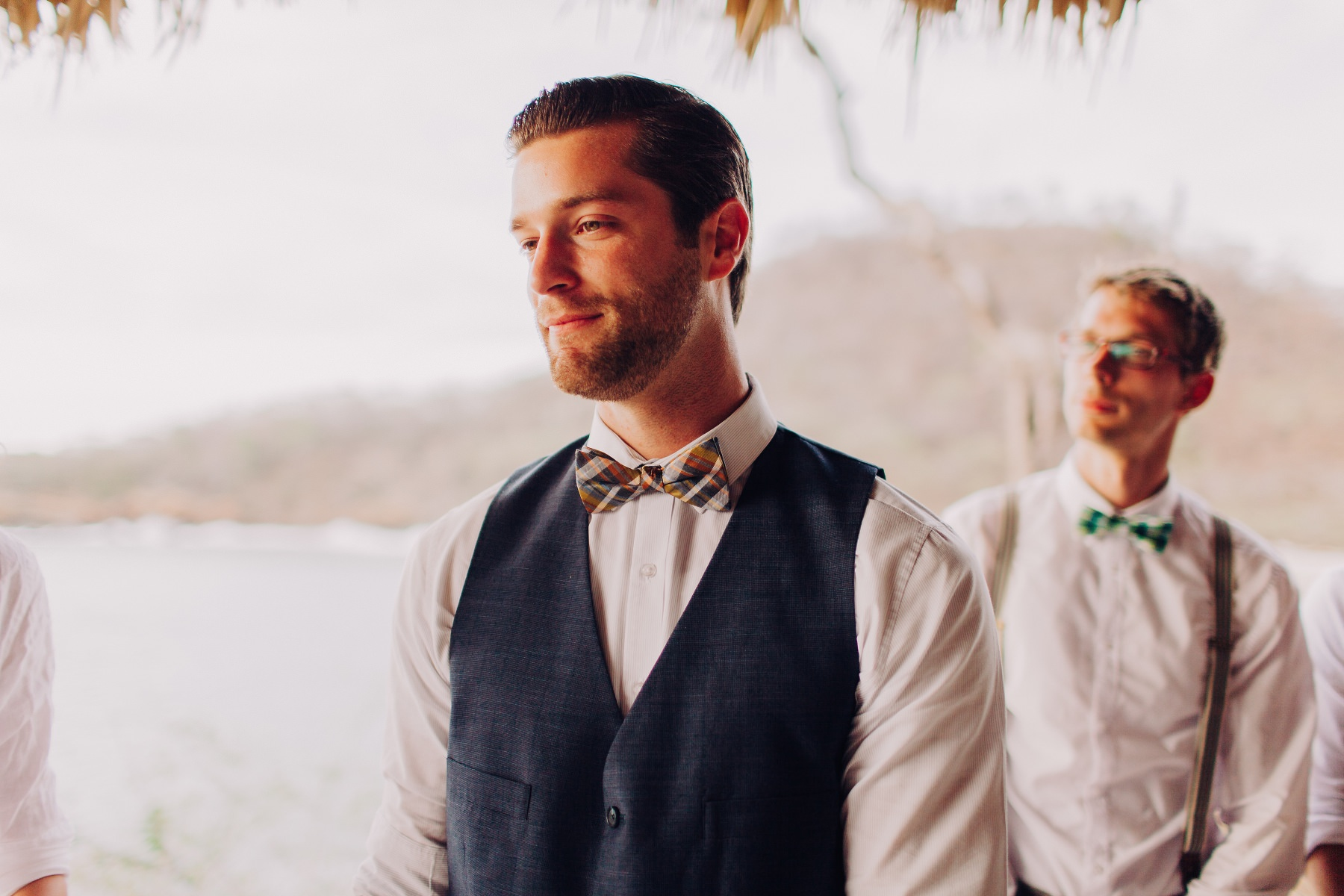groom style ideas Destination Beach wedding in Costa Rica