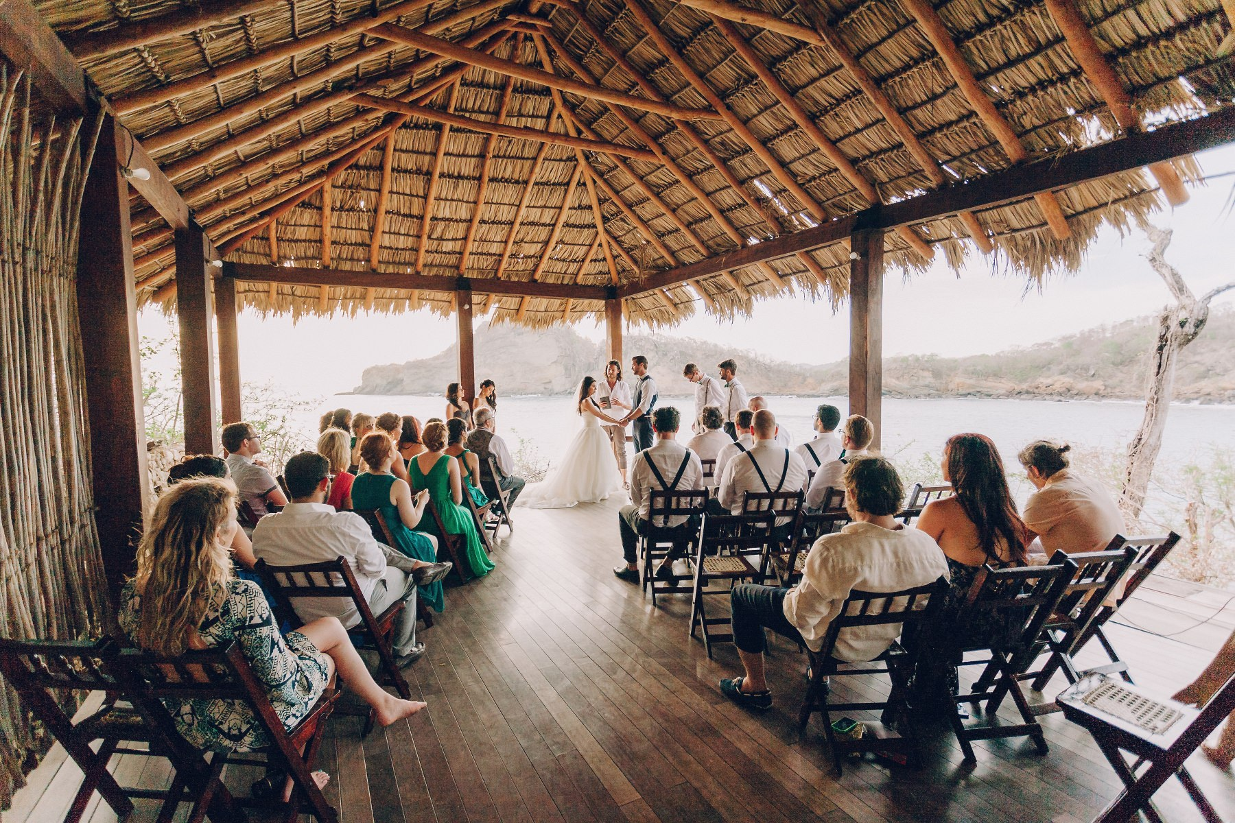 Beach wedding photography Nicaragua