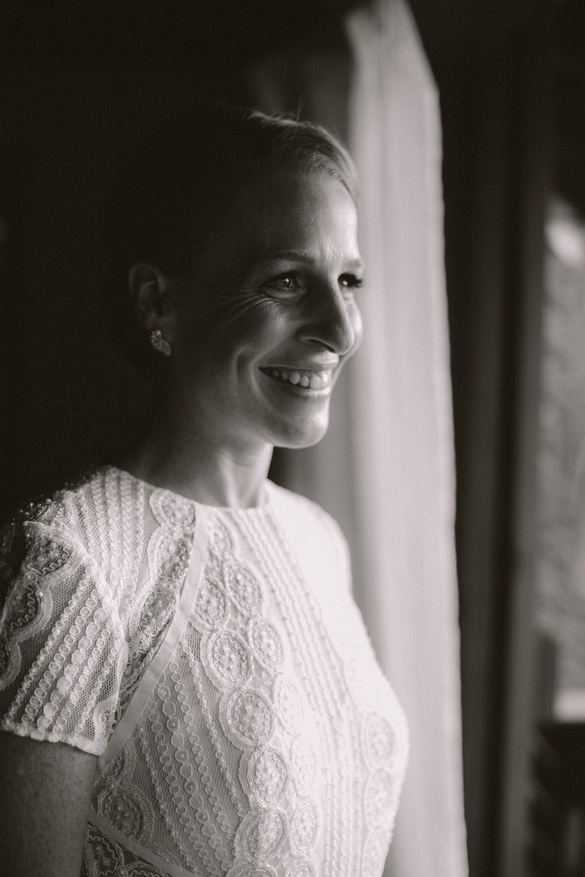 Portrait of a Beautiful bride in her white dress ready for destination wedding in Nicaragua