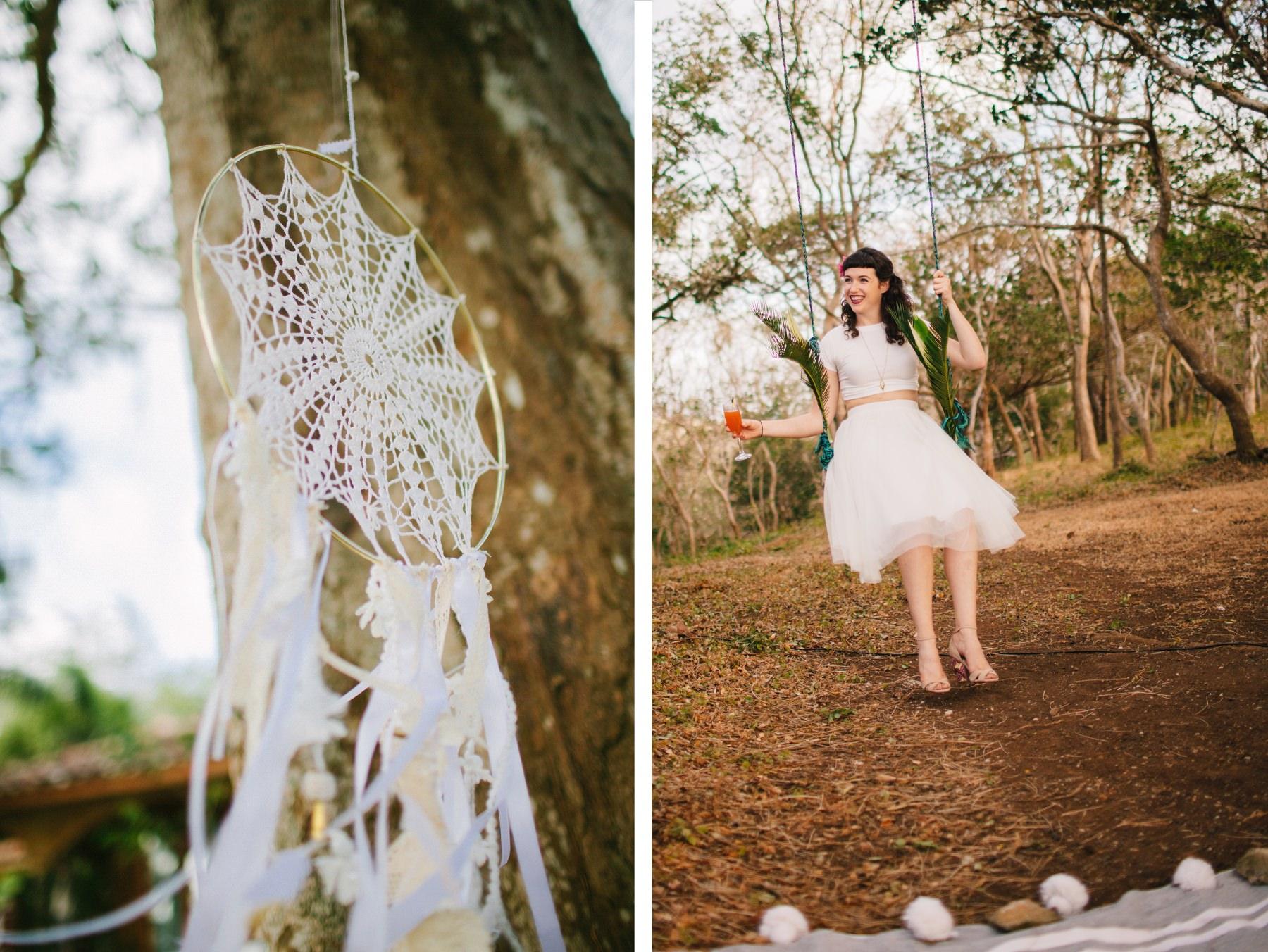 Boho wedding details ideas Costa Rica Nicaragua
