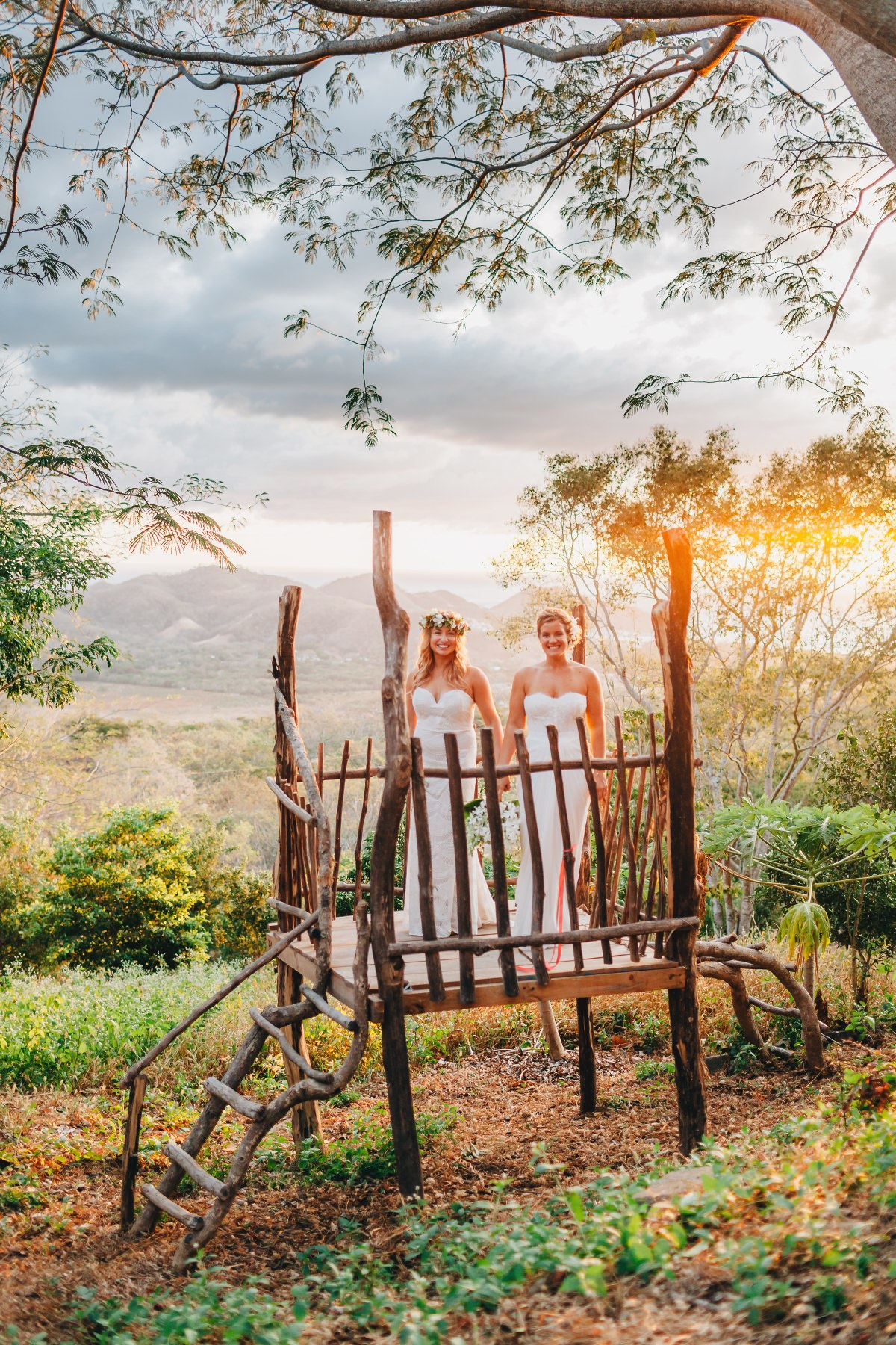 Beautiful brides photography - same-sex destination wedding Venue Costa Rica