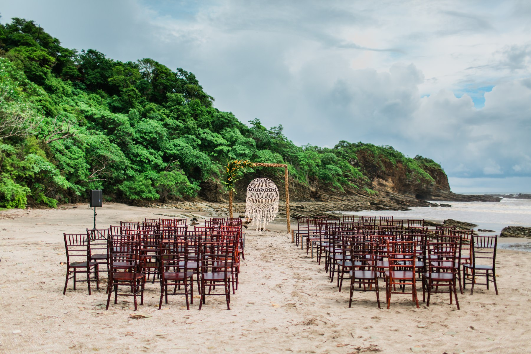 Destination wedding beach Venue  Costa Rica
