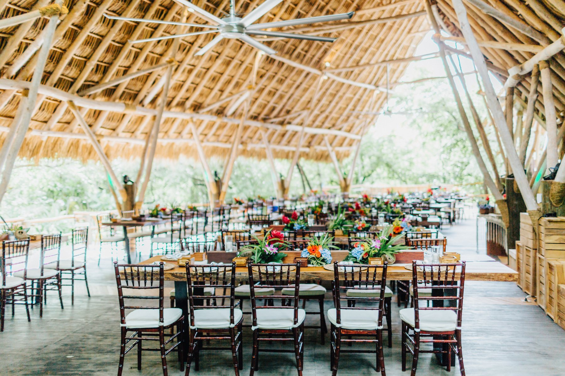 Costa rica wedding  beach wedding ceremony decor