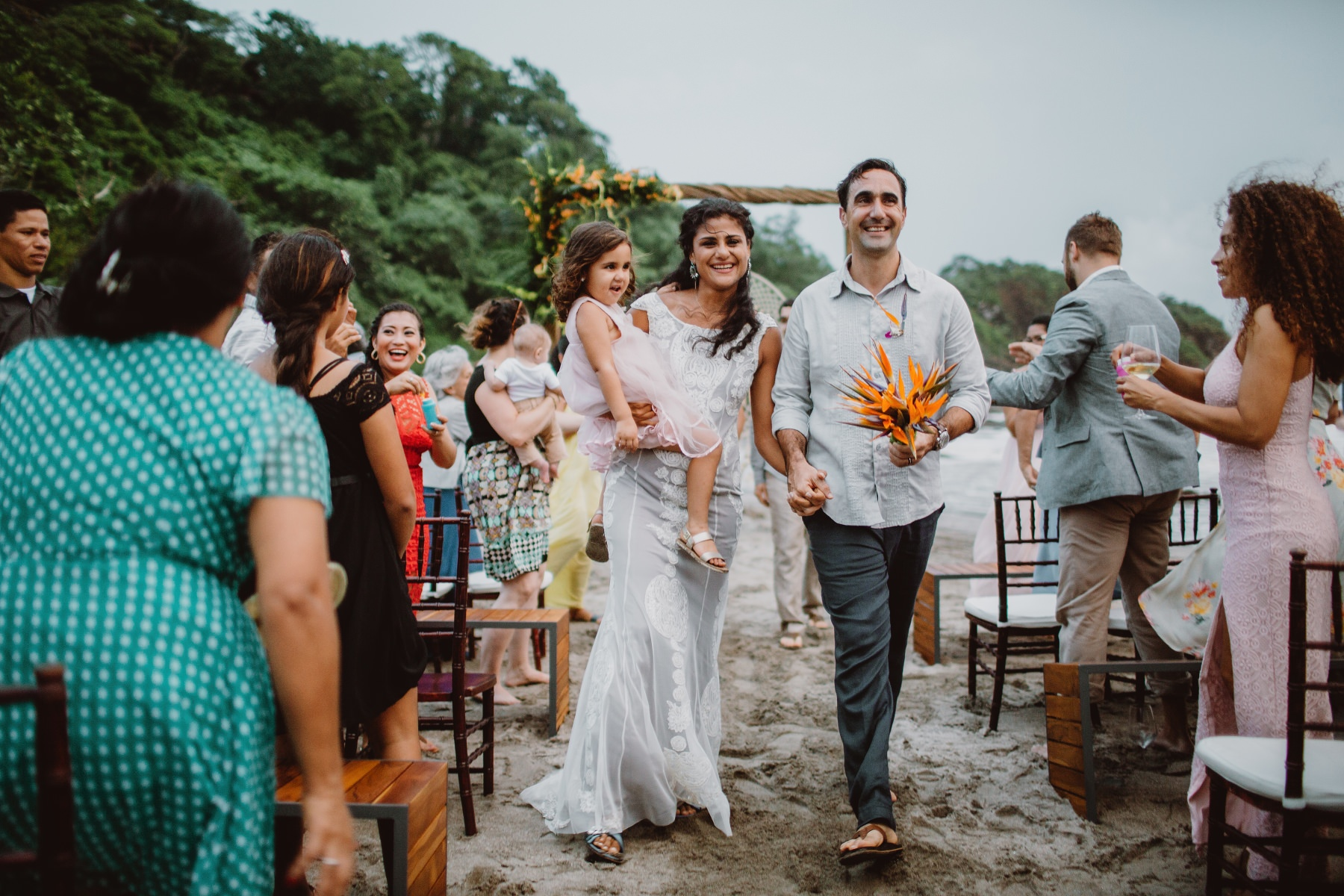 Costa Rica Beach destination wedding