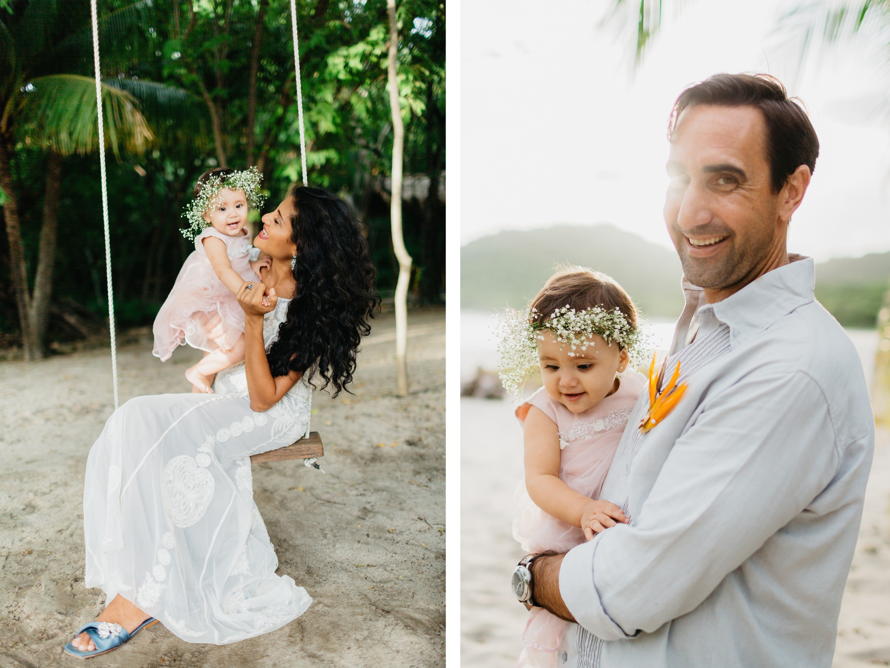 Costa Rica Family photography at the beach
