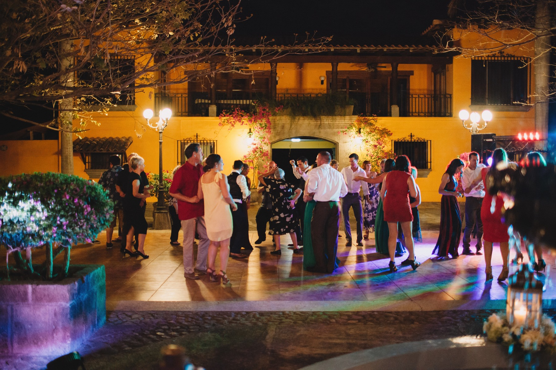 Colonial style destination wedding party - Mexico, Nicaragua