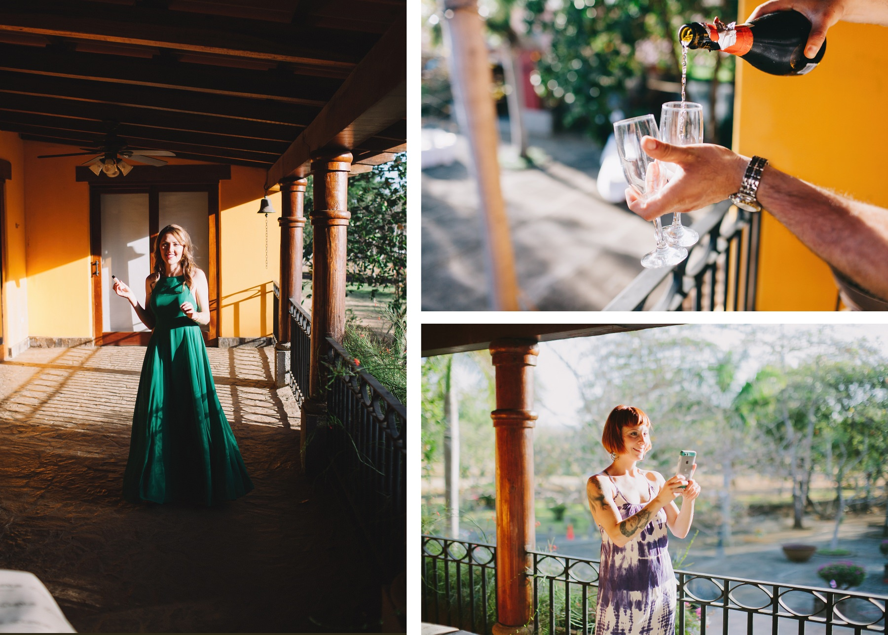 colonial style wedding photography