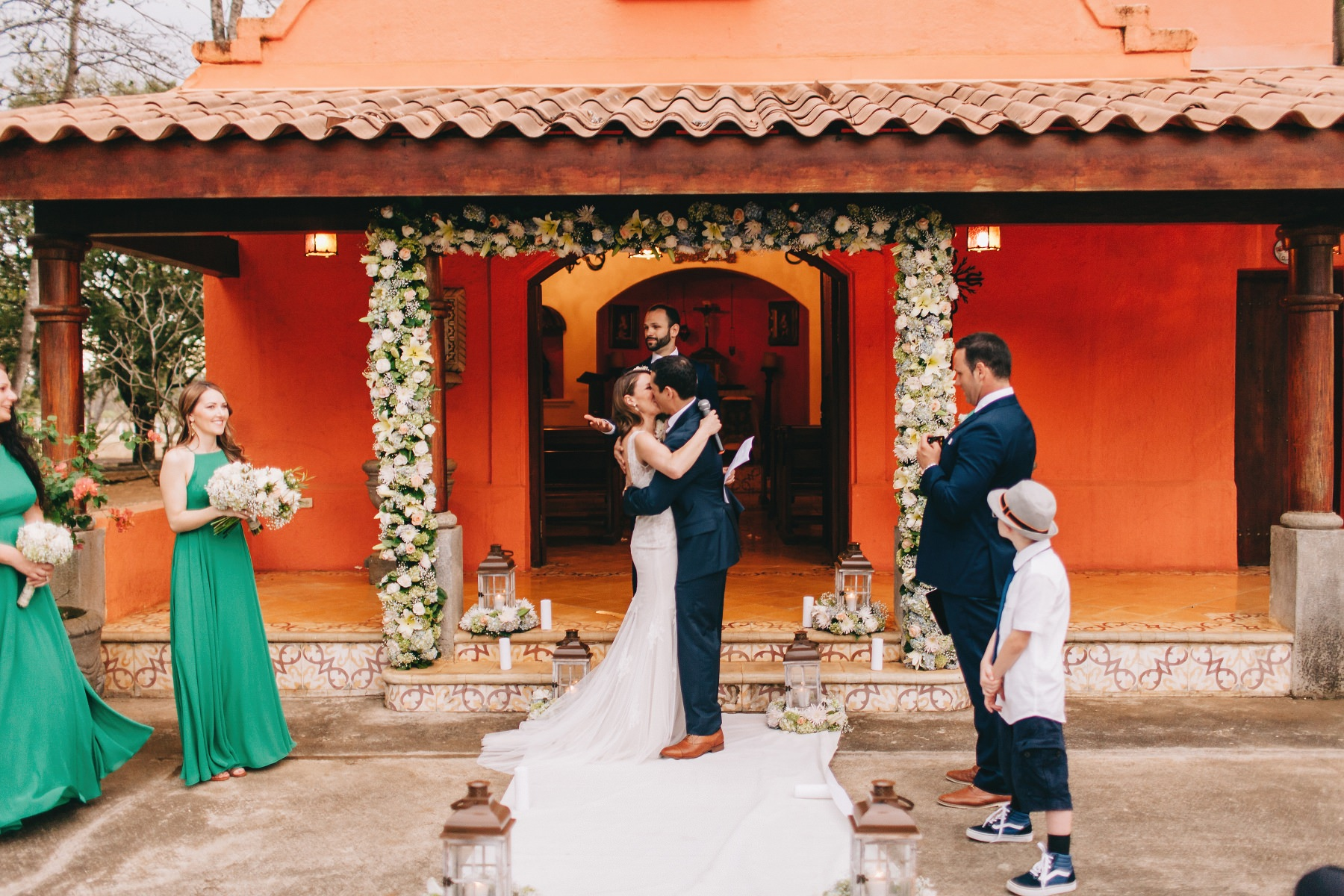 Colonial style Wedding photography - Mexico, Nicaragua