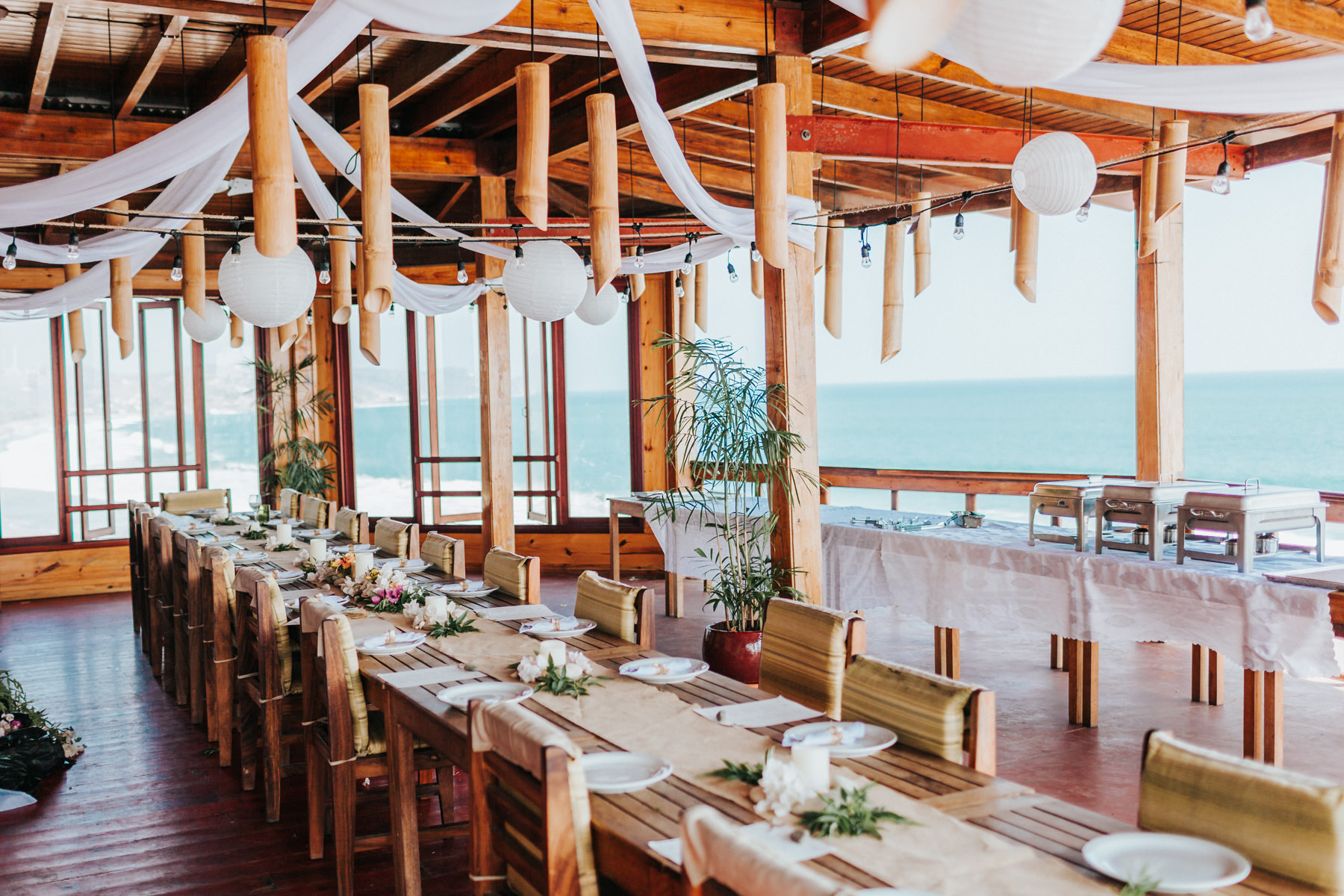 Costa Rica Beach wedding decor ideas - ocean