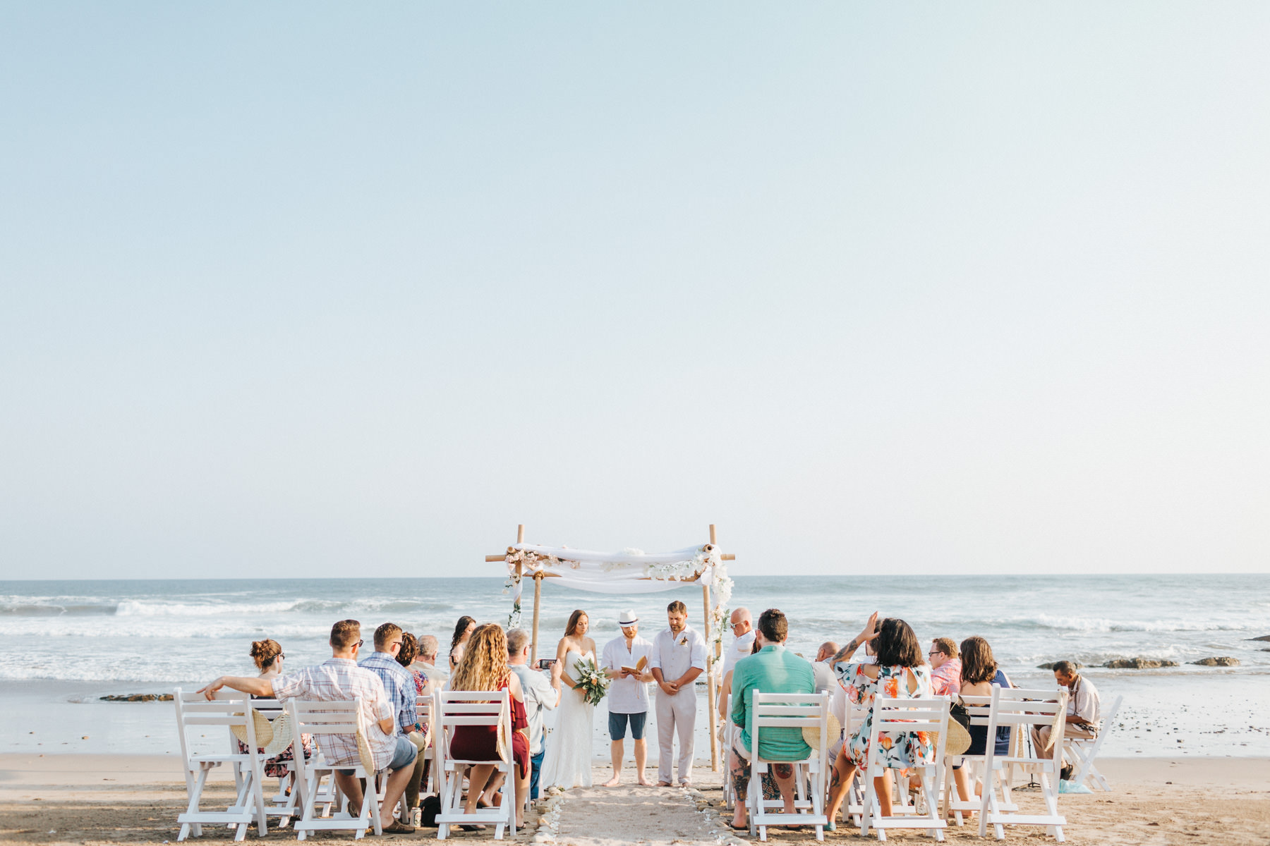 Costa Rica Beach wedding photography
