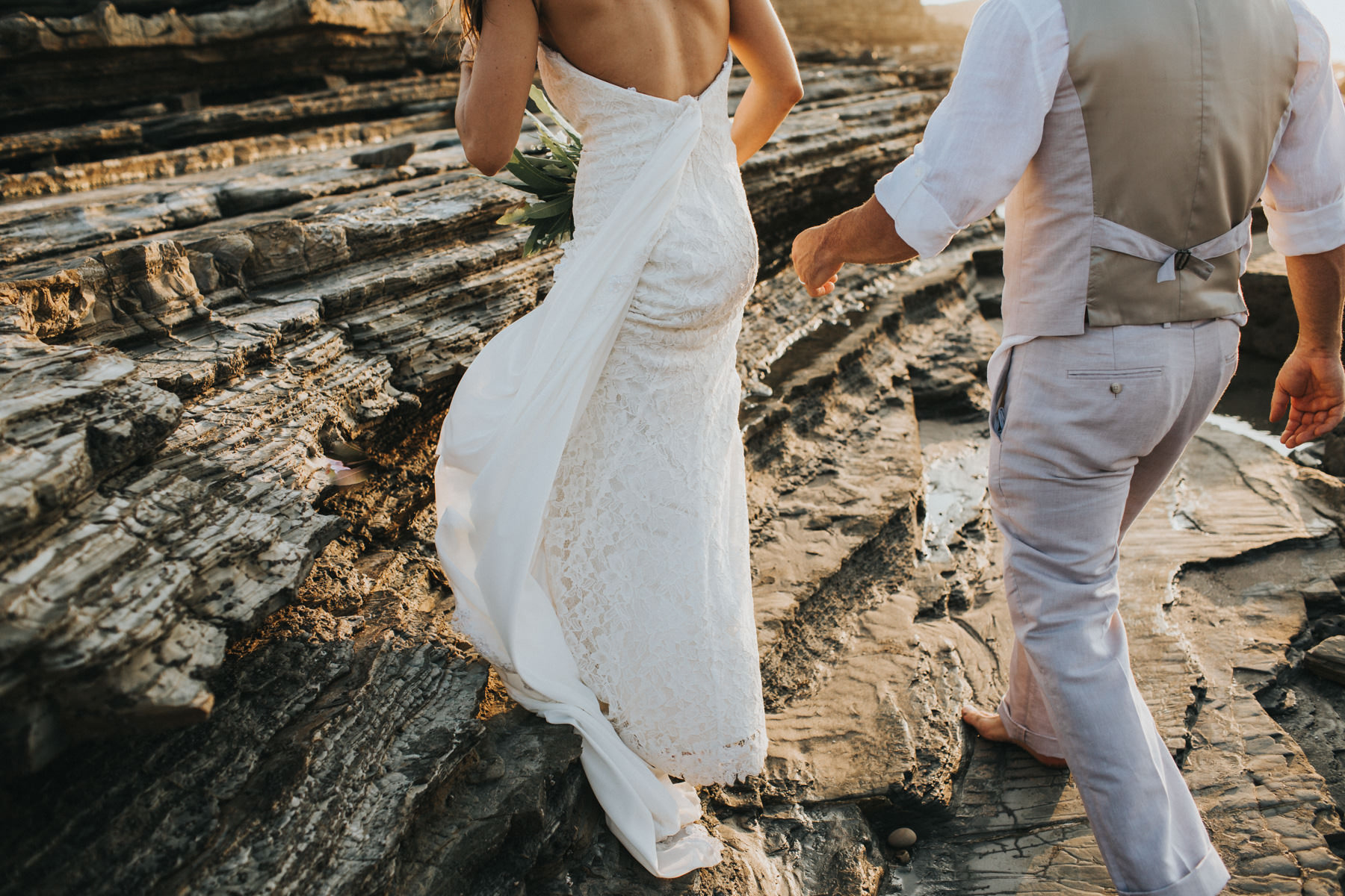 Costa Rica Beach wedding dress