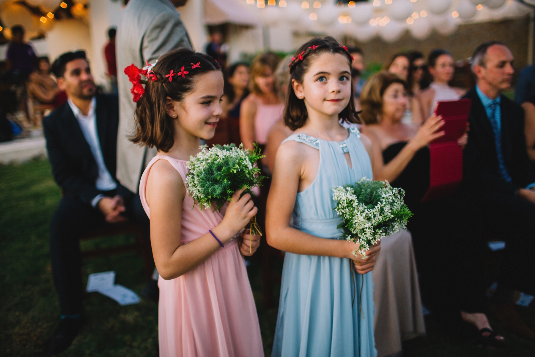 wedding twin girls dress ideas